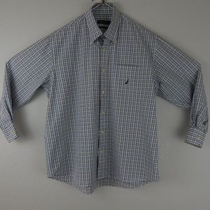 Nautica Long Sleeve Dress Shirt XXL Checks